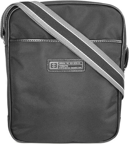 a14bbfd0cb Pánská taška přes ramno Enrico Benetti Lowell - černá - Glami.cz