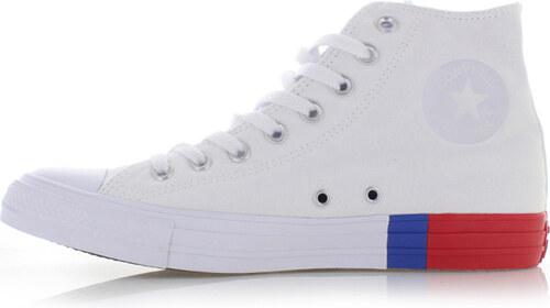 aef3c329d5d -37% Converse Dámské bílé vysoké tenisky Chuck Taylor All Star Tri-Block  Midsole II