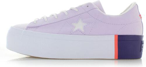 -14% Converse Női világos rózsaszín alacsony szárú tornacipő One Star  Platform adc0aa01c2