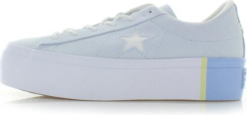 Converse Női világoskék alacsony tornacipő One Star Platform - Glami.hu ccb0fa405c