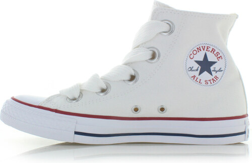 -37% Converse Dámské bílé vysoké tenisky Chuck Taylor All Star Big Eyelets f561ba9a16