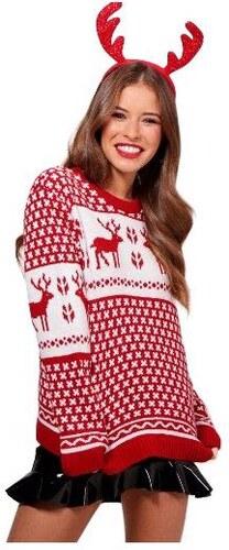 b686973f0507 BOOHOO Vianočné sveter so sobmi Petite Tammy - Glami.sk