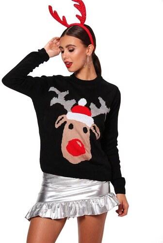 8e6f8df65f92 BOOHOO Vianočné sveter so sobom Sasha - Glami.sk