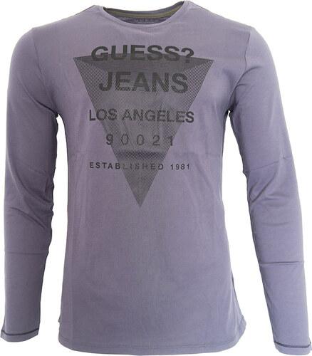 a593ec3567 Pánské tričko s dlouhým rukávem Guess - Glami.cz