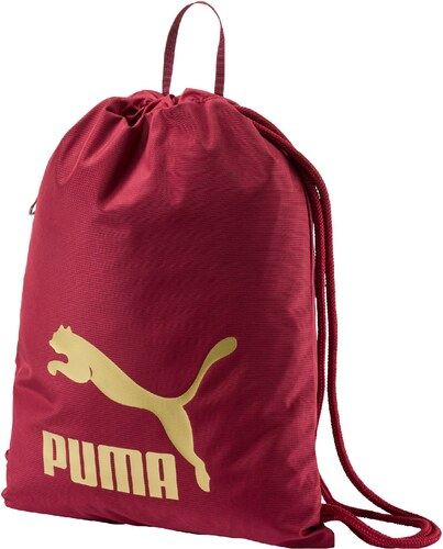 Puma Originals Gym Sack Tibetan Red Hátizsák 07481205 - Glami.hu 9da815cf05