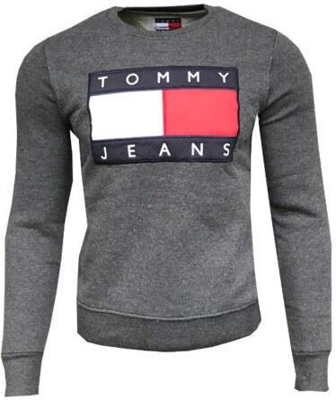 mikina Tommy Hilfiger 90s - tmavě šedá - Glami.cz 057e85d8bc