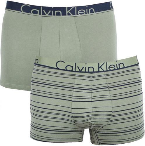 2c10c2c2d 2PACK pánské boxerky Calvin Klein khaki (NU8643A-IYT) - Glami.cz