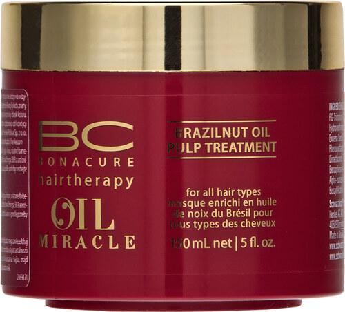 Schwarzkopf Professional BC Bonacure Oil Miracle Brazilnut Oil Pulp  Treatment maska pre farbené vlasy 150 ml 9e82d7b91ed