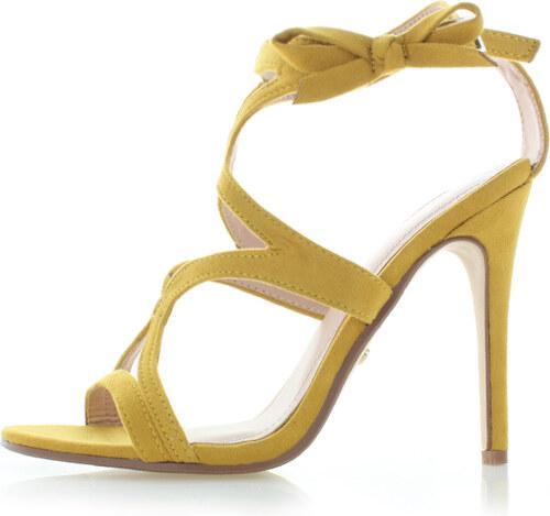 37f77b2341c1 Ideal Žlté sandále Fiorela - Glami.sk
