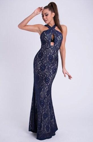 83facca42532 EMAMODA Dámské šaty Emamoda Alic modré - námořnická - Glami.cz