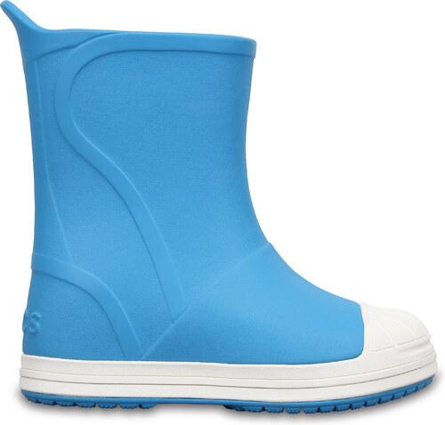 17ea94e2478 Dětské holínky Crocs Bump It Boot - Electric C9 modrá - 25