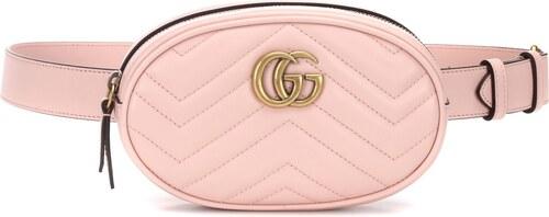 Gucci Sac ceinture en cuir matelassé GG Marmont - Glami.fr 37e7077a0fc