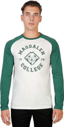 Tričko s krátkým rukávem Oxford University MAGDALEN-RAGLAN-ML-GREEN ... c67e196dcd
