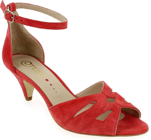 Sandales et nu-pieds Noir en Cuir velours Otess - Soldes kcowC