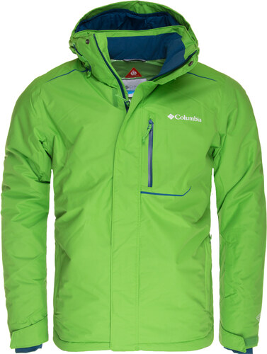 e834a929ab5f Zimní bunda pánská Columbia Ride On Jacket Cyber Green - Glami.sk