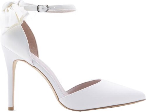 b125d96295 NEW LOOK Svadobné sandálky so saténovou mašľou - Glami.sk