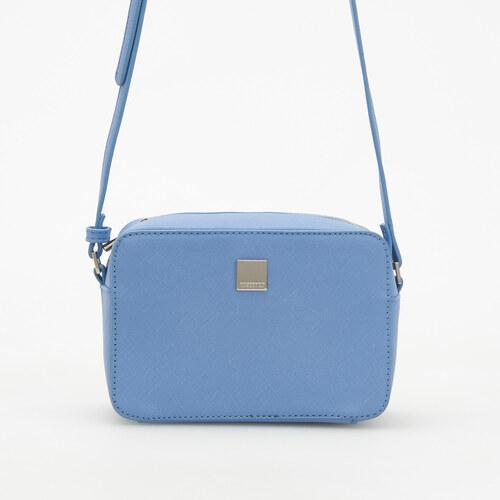 Reserved - Malá kabelka s nastaviteľným remienkom - Modrá - Glami.sk 447d04d4c77