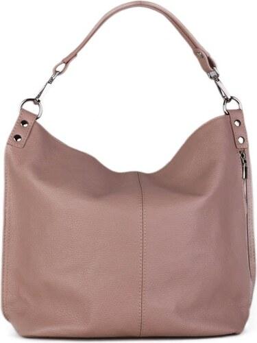 ac62228837c ITALSKÉ Italské levné kožené kabelky Ludmila jemně růžové
