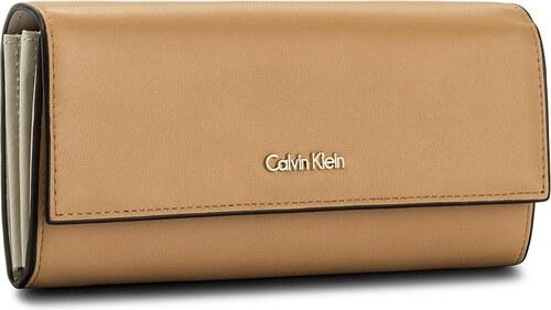 Veľká Peňaženka Dámska CALVIN KLEIN - Compact Large Trifol K60K604009 230 2f8bf7db0ea
