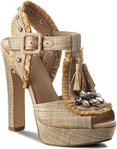 5d5386ef0f08 Sandále LIU JO - Open-Toe Sandal S18081 T7034 Natural 00005 - Glami.sk