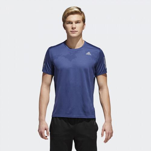 8bf2c16800 Pánské tričko adidas Performance RESPONSE TEE M (Tmavě modrá) - Glami.cz