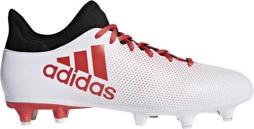 new product 0f958 ef16b Pánské kopačky kolíky adidas Performance X 17.3 SG (Bílá   Červená   Černá)