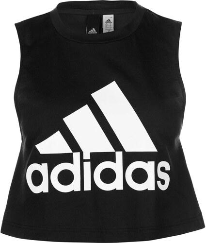 24b2fe90ef1b Športové tielko adidas Crop Logo Tank Top Ladies - Glami.sk