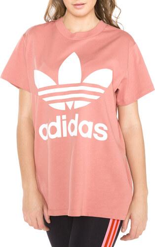 8ea9d794e505 Női adidas Originals Big Trefoil Póló Rózsaszín - Glami.hu
