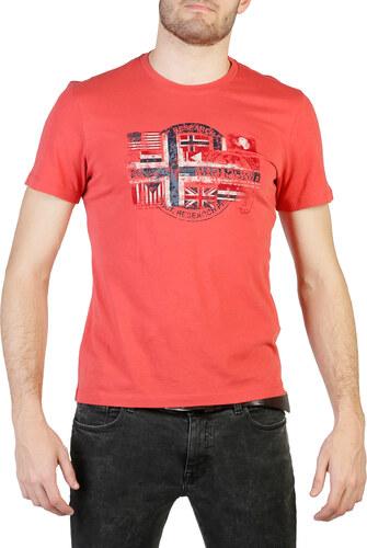 371e3ba2be4d Červené tričko Napapijri - Glami.sk