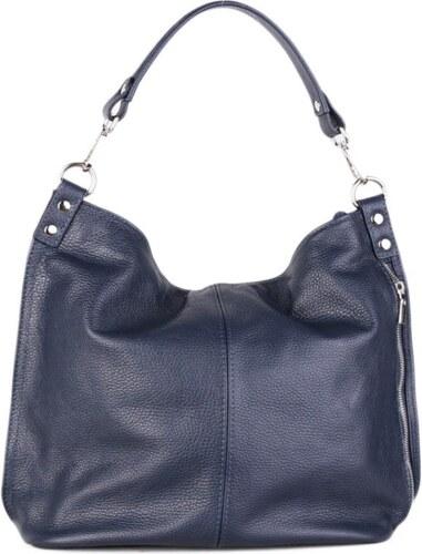 TALIANSKE Talianska kožená kabelka vrecovitá modrá Ludmila - Glami.sk 96284770023
