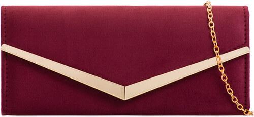 ikabelky Elegantná kabelka s lemom K-Z2072 bordová - Glami.sk 6ab6d97621e