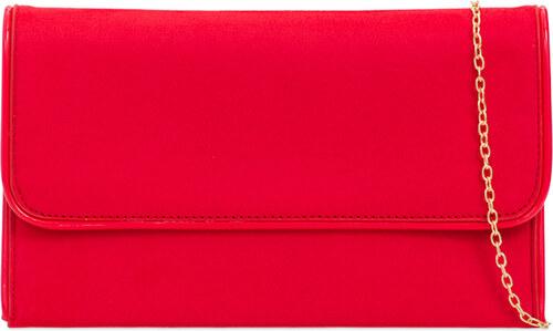 ikabelky Dámska listová červená kabelka K-L2104 - Glami.sk de754ecb106