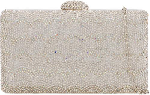ikabelky Listová kabelka s kamienkovým vzorom K-Y2204 strieborná ... 2d8a19b8f1a