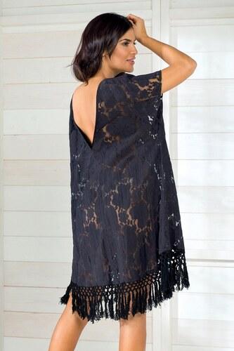 f89d9b8f2f12 Dámske letné šaty talianskej značky Iconique IC8011 Black ČIERNA ...