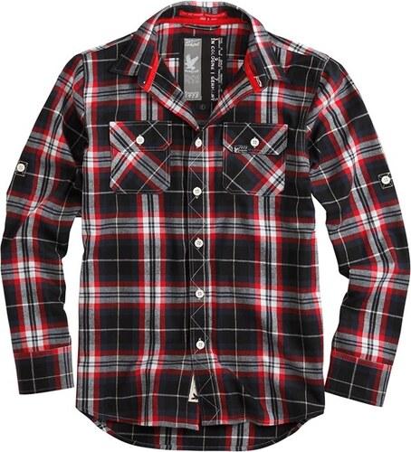 Surplus Košile Lumberjack Shirt červená - Glami.cz 9541e1033f