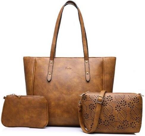 Realer 3 darabos női táska szett 9094e66edb
