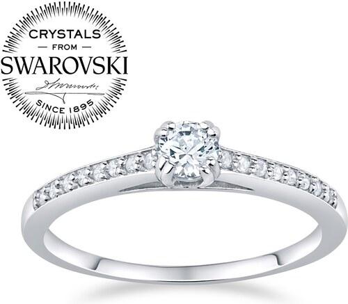 d84352a48 SILVEGO Stříbrný prsten ATHENAIS se Swarovski(R) Crystals FNJSM023sw ...