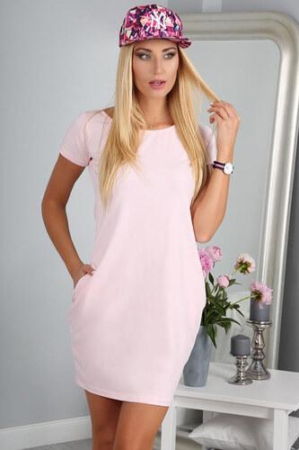 e68a1ac35079 Amando Slabo ružové šaty 9967 - Glami.sk