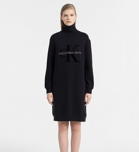 949619cdd3 Calvin Klein dámské černé šaty Doll - Glami.sk