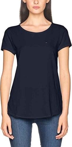 Tommy Hilfiger dámské tmavě modré tričko Basic - Glami.sk e670d8b4f1