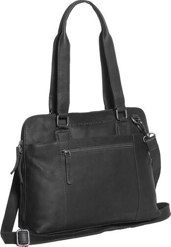 The Chesterfield Brand Dámská kožená kabelka M na notebook Cara C48.061200  černá 3f0aff925f