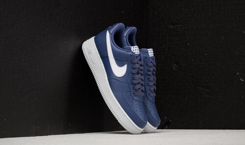 Nike Air Force 1  07 Blue Recall  White - Glami.cz 02ebf9d467b