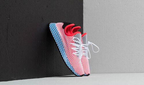 cheaper 6323e daba3 adidas Originals adidas Deerupt Runner J Solid Red Solid Red Bluebird