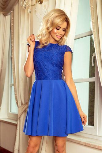 51b968f1f606 Strikingstyle 157-5 Spoločenské šaty numoco   modré - Glami.sk