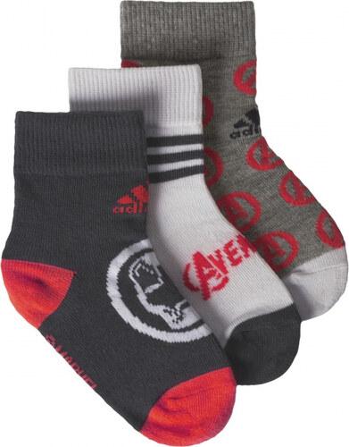 c48c3df40c8 Ponožky adidas Performance MARVEL LK 3 PÁRY (Šedá) - Glami.cz