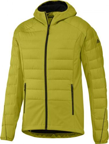 ab0828587497 Pánska bunda zimná adidas Performance HY DWN JKT (Žltá) - Glami.sk