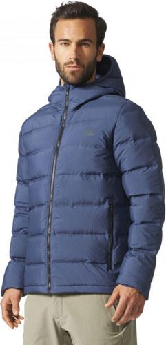 Pánska bunda zimná adidas Performance Helionic Ho Jkt (Tmavo modrá ... 3c35a0549a7