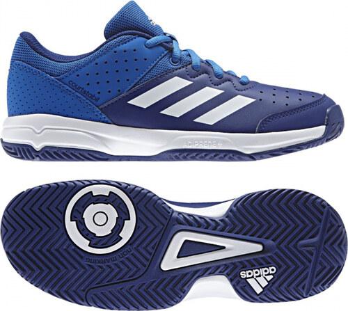 fdd6f525812 Sálové boty adidas Performance COURT STABIL JR (Modrá   Bílá) - Glami.cz