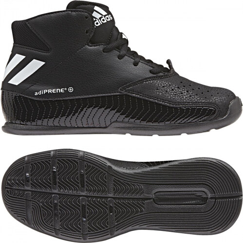 03964c7a9d114 -60% Detské basketbalové topánky adidas Performance Nxt Lvl Spd V K (Čierna  / Biela / Šedá)