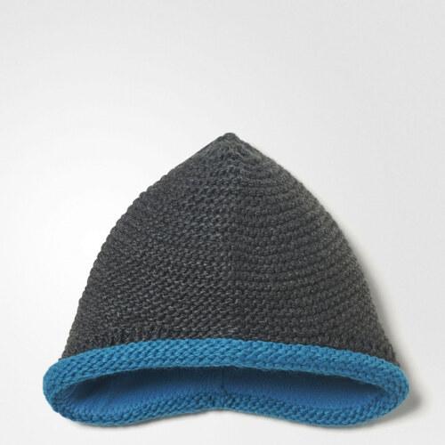 2656aa6cb23 Chlapecká čiapka adidas Performance INF KNIT BEANIE (Šedá   Svetlo modrá    Biela)